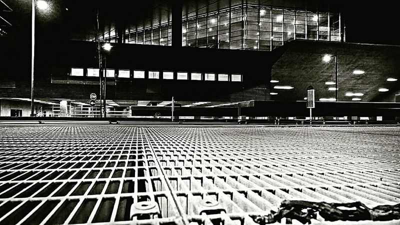 Transportation Street Mode Of Transport Architecture Building Exterior Night Outdoors Modern No People Dark Train Station Stazione Tiburtina Roma Blackandwhite Blackandwhitephotography My Point Of View Nightshot Light And Shadow Streetphotography_bw Streetview Prospective Architecture_bw Streetphotography_bw