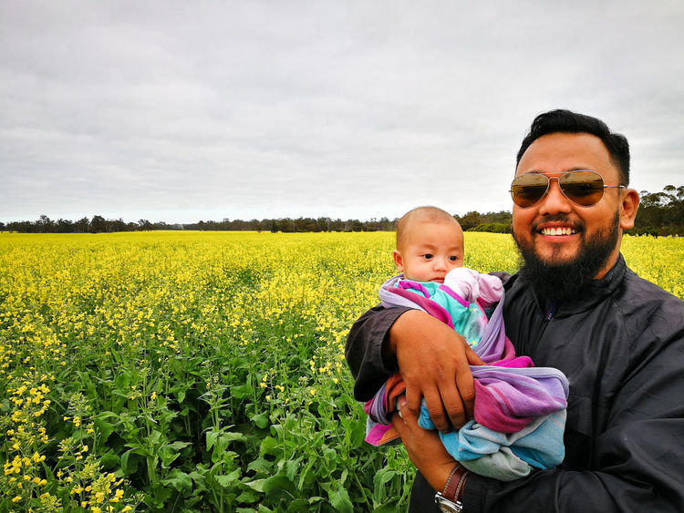 Asian family in the canola field. Asian Travel Western Australia Australia Australia & Travel Malaysian Travel Destinations Travel Traveling Field Canola Canola Field Canola Flowers Farm Farmfield Asian  Tourism Tourist Tourist Attraction  Tourist Destination Muslim Muslimah Family Tourist Attraction  Farmland Babyhood Oilseed Rape Cultivated Land Crop  Growing Agricultural Field