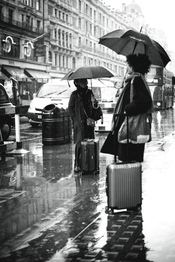 london London United Kingdom Street Umbrella City Wet Rain Protection Water Security Walking Architecture Transportation Rainy Season Men Real People City Life Building Exterior Day Nature Outdoors British Culture The Street Photographer - 2019 EyeEm Awards