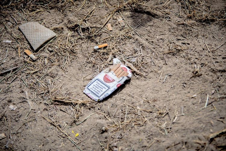 Cigarette End Festival Floor Ground Floor Package Packet Trampled Tobacco Tobacco Pack
