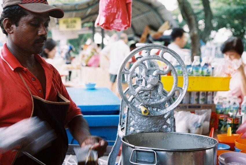 Streetphotography Analogue Photography 35mm Kodak Film Photography Filmisnotdead Filmphotography Filmcamera Rangefinder Konica Streetfood Hawkerfood The Street Photographer - 2017 EyeEm Awards