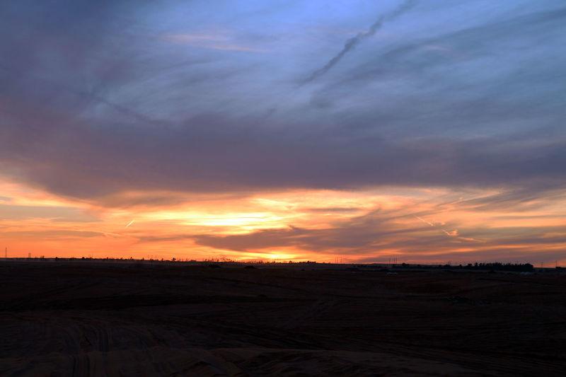Beauty In Nature Cloud - Sky Landscape Moody Sky Nature Orange Color Sky Sunset 43 Golden Moments
