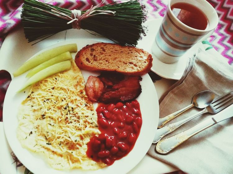My Breakfast My Morning No Makeup Food Food And Drink Indoors  Ready-to-eat No People Table Freshness Close-up Day