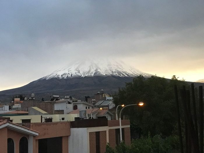 The Misti 🗻 Volcano Snow Nofilter