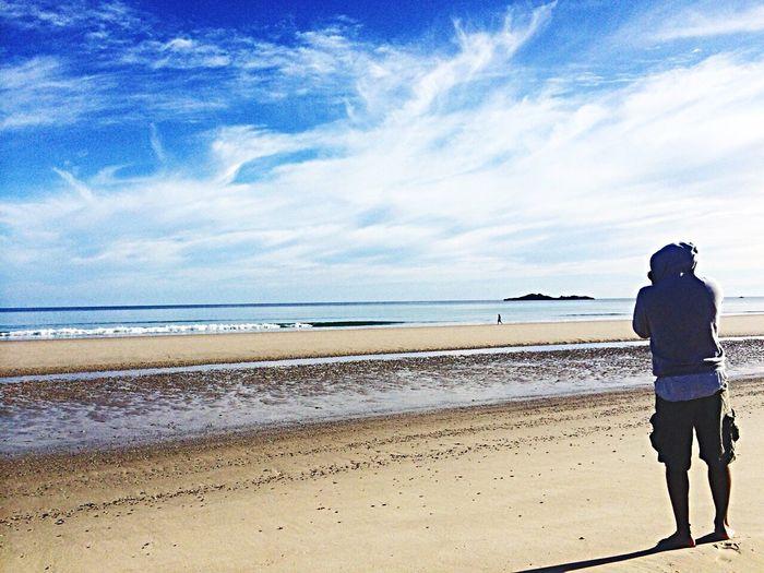 Beach selfie 2 Enjoying Life Life Captured Moment Beautiful Surroundings Tasmania Australia Exploring Colors