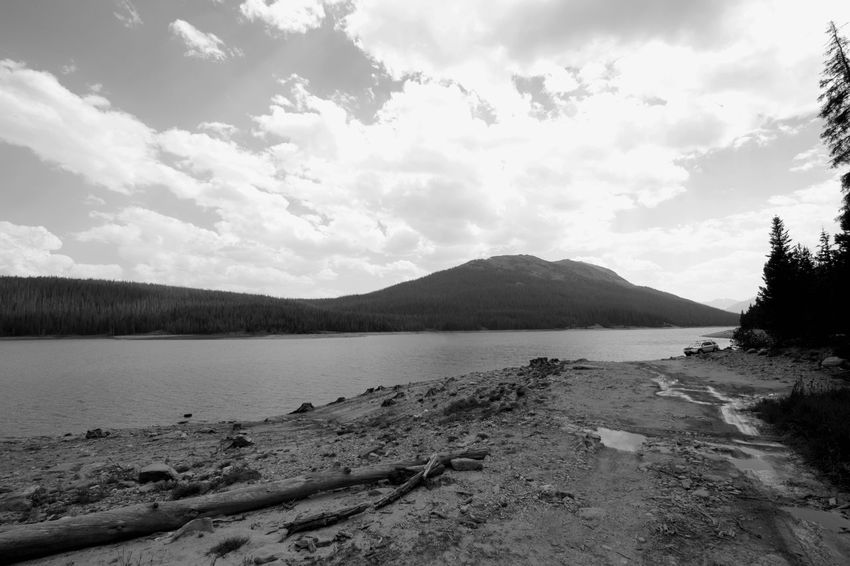 EyeEmNewHere Colorado Colorado Photography Beach Beauty In Nature Cloud - Sky Day Environment Idyllic Lake Land Mountain Nature No People Non-urban Scene Outdoors Plant Scenics - Nature Sky Tranquil Scene Tranquility Water