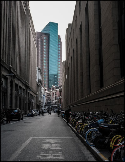 #street #streetphotography Architecture Bikes Building Exterior Built Structure City City Life City Lights City View  Cityscapes Day Land Vehicle Outdoors People Sky Skyscraper Stationary The Way Forward Transportation Travel Destinations Urban Skyline Urbanphotography First Eyeem Photo