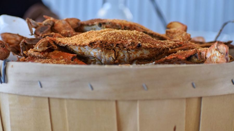 Food Food And Drink Indoors  Freshness Close-up Seafood Ready-to-eat No People Day Crab Blue Crab Maryland Chesapeake Bay Summer Summertime Live For The Story EyeEmNewHere
