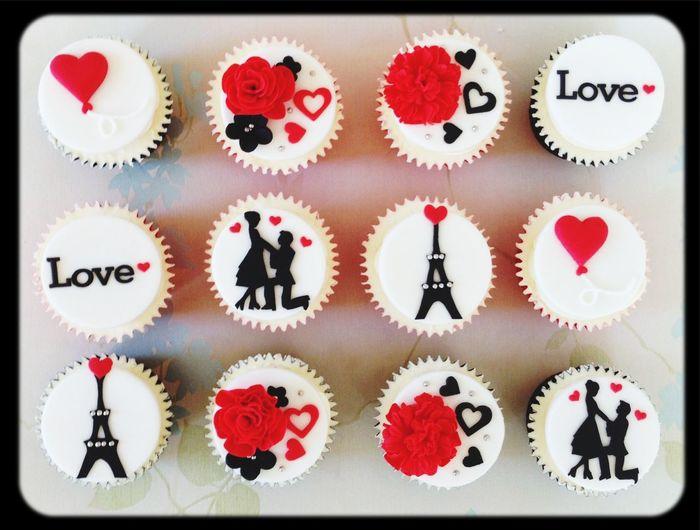 Cake cupcakes Love love Mrsstarkeyskitchen