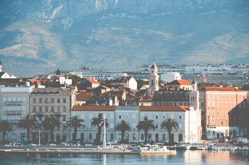 Split Crotia Split Croatia Split Architecture Water Nautical Vessel City Cityscape Blue Travel Destinations Sea Built Structure Building Exterior Day The Street Photographer - 2017 EyeEm Awards Faded Lowlight Architecture Shore Shoreline Beach Outdoors Travel Tourism EyeEmNewHere