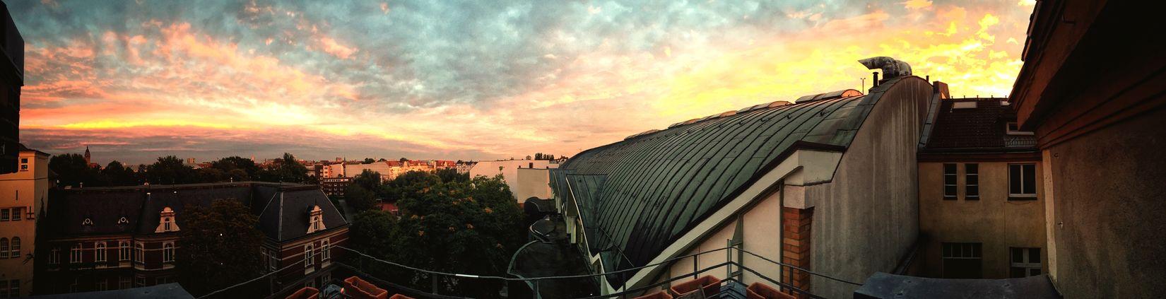 Guten Morgen Berlin - Laufwetter Berlin Panorama Skyporn Clouds And Sky Charlottenburg  Sun