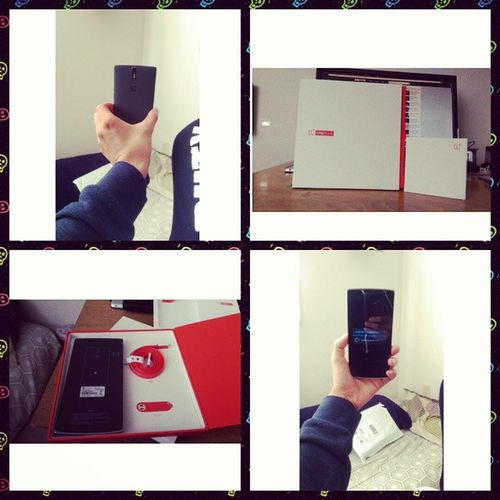 Finally I have this beauty in my hand. Feeling awesome. Oneplusone Opp Flagshipkiller