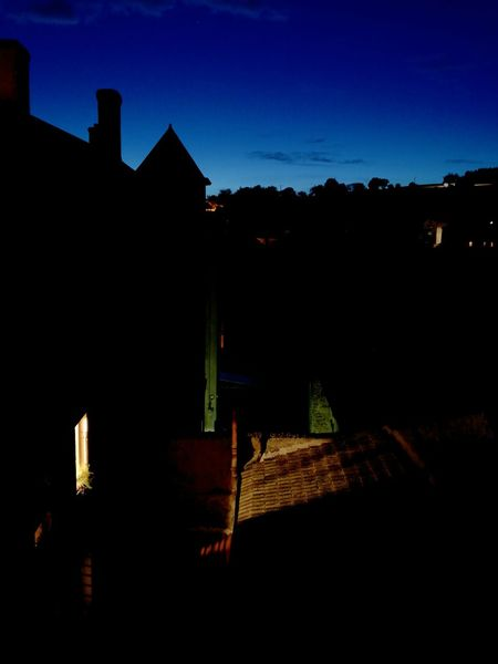 Night Outdoors No People Architecture Night Is Coming Roof Rooftop View  Sky By Night Low Angle View Backgrounds Bourgogne Bourgogne-Franche-Comte France Window Light Trough Windows