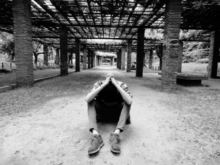 Don't know anything anymore Real People Depression - Sadness Struggle Abandoned Lost Urban Thoughts