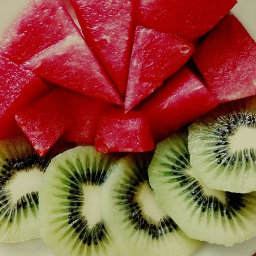 Люблю лето Enjoying Life Green Red Fruit Color Of Life Mission