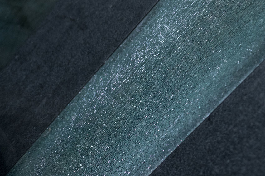 Glass and stone abstract. Abstract Broken Close-up Cool Tones Detail Glass Lines Stone