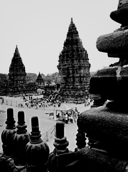 Prambanan temple site history. Hindu Temple Blackandwhite Monochrome Wonderful Yogyakarta