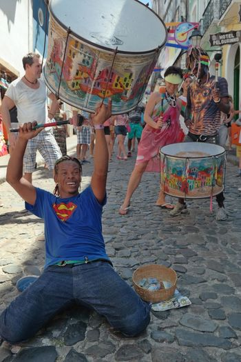 Drum action in the old town of Salvador/Bahia. Huffington Post Stories The Week On Eyem Showcase: February Colors Of Carnival