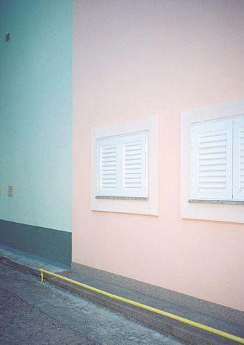 Minimalism Pastel Power 35mm Analogue Photography Filmisnotdead TakeoverContrast Minimalist Architecture