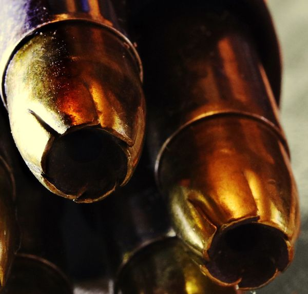 Ammunition Ammo Metal Bullet Bullets Close-up No People Focus On Foreground Day Indoors