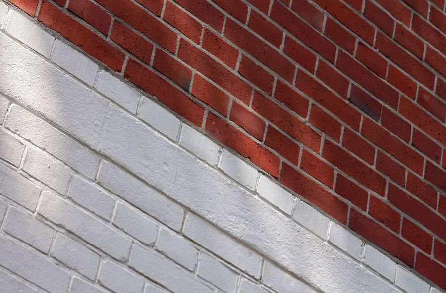 Diagonal Diagonal Lines Diagonals Diagonal_symmetry Brick Wall Red Brick Wall White Brick Wall White And Red White Color Red Color Fresh On Eyeem  TakeoverContrast