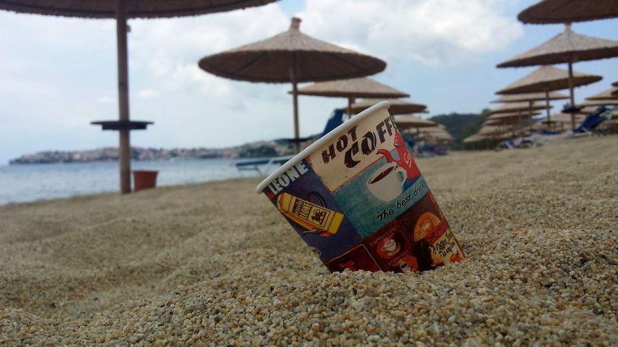 Portocarras Greece Grecia On The Beach