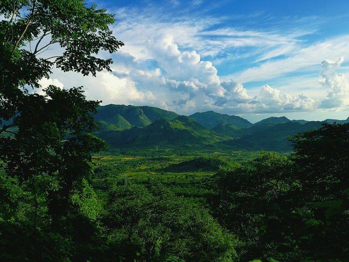 Mozambique mountains Nature Beauty In Nature Mountain Landscape Cloud - Sky Outdoors Tree