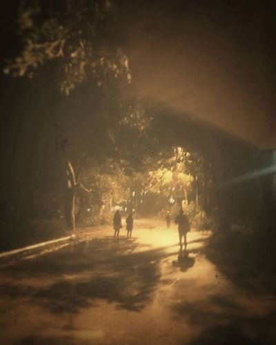 Nice rainy romantic evening Pondicherry RainyDay Rainyseason