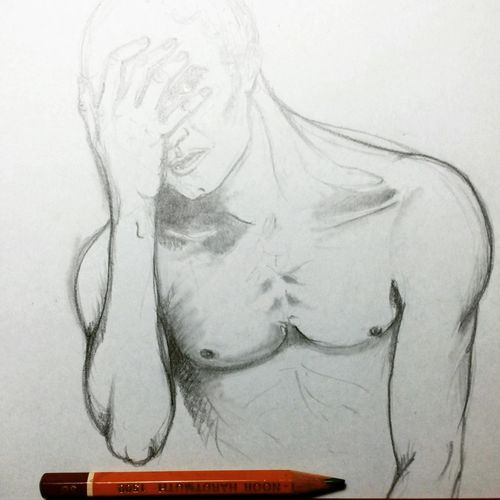 Disegno / studio Wip Disegno Draw Biancoenero Workinprogress Disegno Matita Lapis