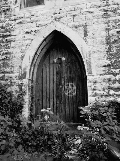 Vintage Church ⛪ Gothic Door No People EyeEmNewHere