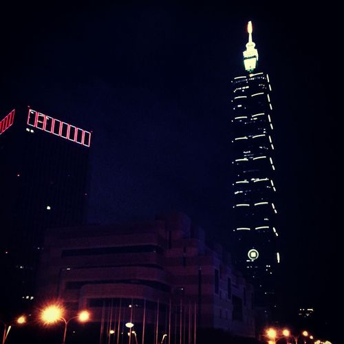 Most expensive court in taiwan. Night Photography Hello World Amazing View Xoxo Collection 台北101