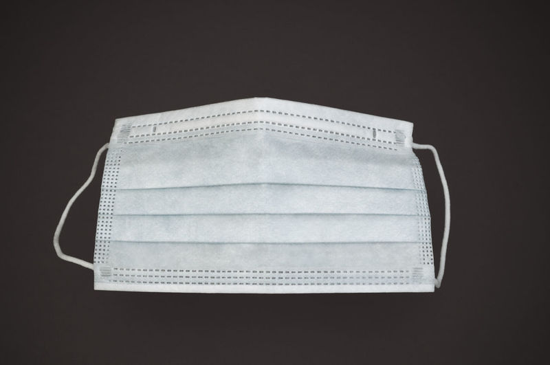 surgical mask Healthcare Hygiene Black Background Close-up Equipment Mask Medical No People Protection Protective Safety Sanitary Single Object Studio Shot Surgical Mask