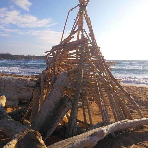 Augh Indians  in Portoferro Beach