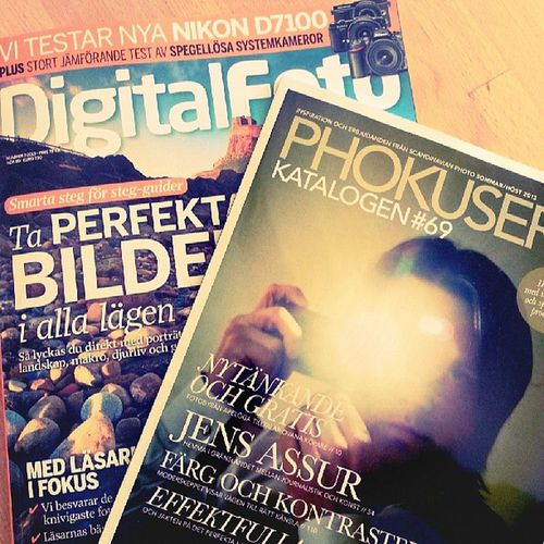 Fick lite trevlig läsning i brevlådan Digitalfoto och phokusera från Scandinavianphoto