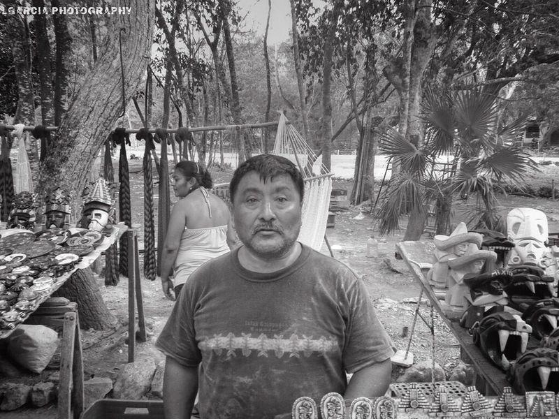 He happy. EyeEm Best Shots Eyeem Monochrome HDR Mexican Street Vendor LGarciaPhotography IPhone Playadelcarmen Chichenitza Mexico