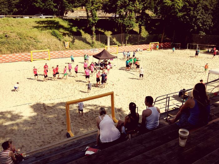 Sandball Beachhandball Enjoying The Sun Friends ❤ Weekend Activities Brno Prýgl