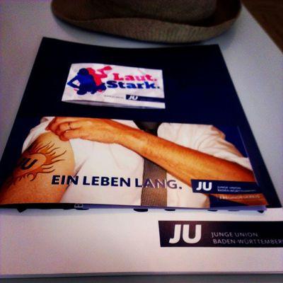 Möge die Kampagnen-Konferenz der Jubw beginnen. :)) #KaKo13 #LautStark #JU #jungeunion Ju Lautstark Jungeunion Kako13