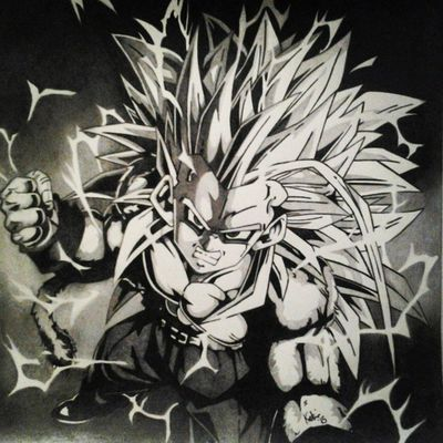 Graphite Artist Art Dragonball photooftheday instagram