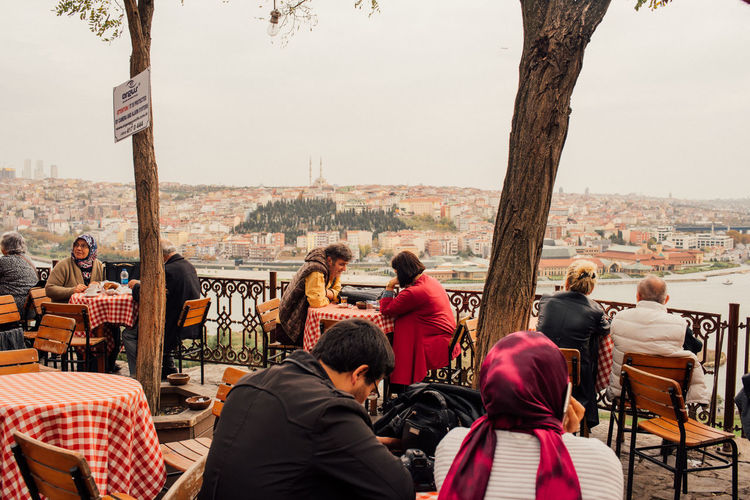 Istanbul Istanbul Cafe Cafe Cafe Time Cafeteria City Cityscape Istanbul City Istanbul Turkey Outdoors People Pierrelotti Real People Sitting Table Travel Destinations