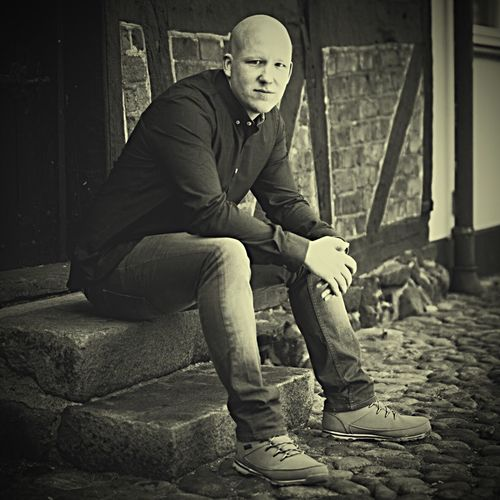 Portrait Urban Landscape Suburbia Old Buildings Check This Out That's Me Hanging Out Denmark Enjoying Life