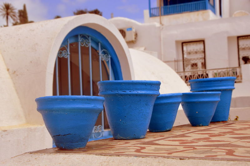 Eye Em Nature Lover Sidi Bou Said Tunisia Architecture Blue Building Exterior Built Structure Close-up Day Eye Em Travel No People Olefingirl Outdoors Tunnel