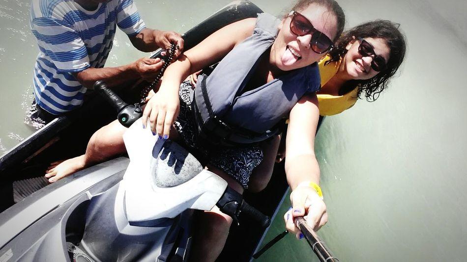 Best day Monopod S5mini Jetsky Seawaves Beatiful Sea