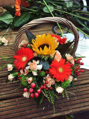 Floristry Flowers Florist Flower Display Basket Of Flowers 🌷 Work Work Desk