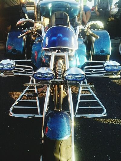 0NCE Y0U SEE RESULTS, IT BEC0MES AN ADDICTI0N. Motor Motorcycle Metal Day Lights Light Tranquil Scene Uniqueness Variation Majestic Neon Pattern Creativity Colors Outdoors Tuesday Blue Trike Legit Trikebike Beautifully Organized Beauty In Ordinary Things