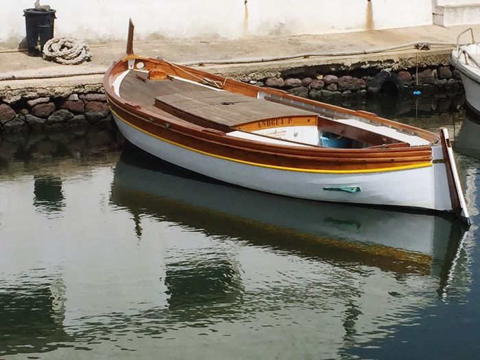 Transportation Mode Of Transportation Moored Nature No People Day Tranquility Fishing Boat