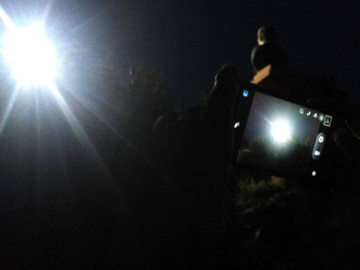blast light Illuminated Light Beam Close-up Flashlight Spotlight
