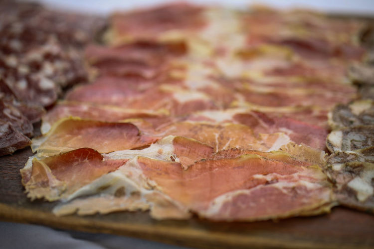 Close-up Day Fiambre Food Freshness Ham No People Salame