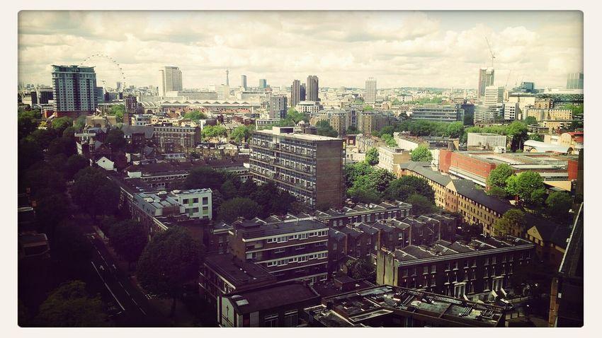 Enjoying The Sunlondon rooftop