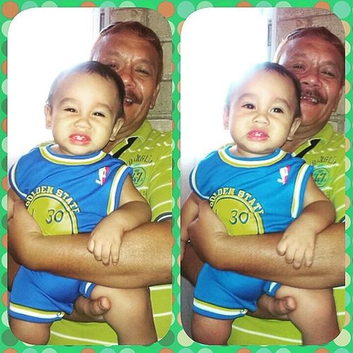 Happy 1st Birthday Baby Coby! :) Cutie patootie baby & Lolo George.