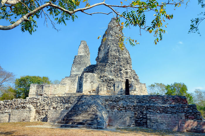 Xpujil archaeological area in the Yucan peninsula in Mexico Ancient Archeology Campeche City Mayan Mayan Ruins Mexico Pyramid Pyramids Ruins Travel Yúcatan Acropolis Archaeological Archaeological Sites Civilization Landmark Maya Monument Rivera Sacred Site Temple Xpujil Yucatan Mexico